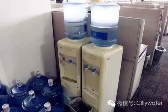 公室饮水机到底多脏