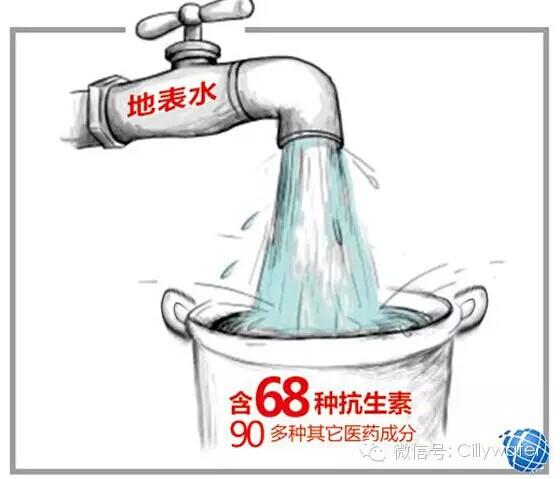 家中自来水 请安装净水器