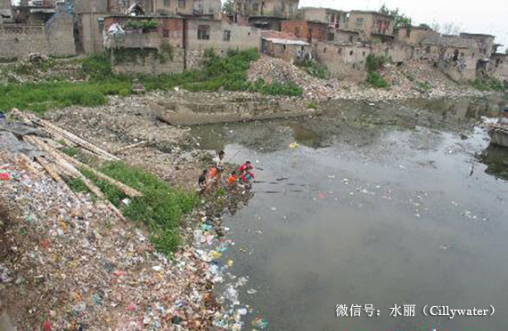 淮河水污染