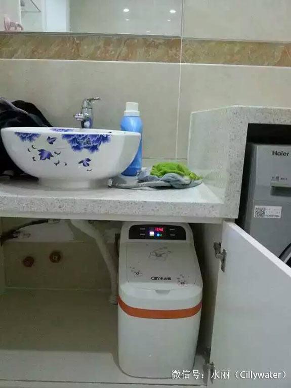 净水器实景安装照片