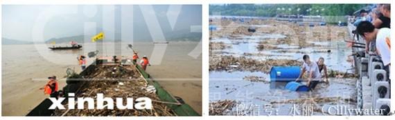 洪水肆虐水质变差