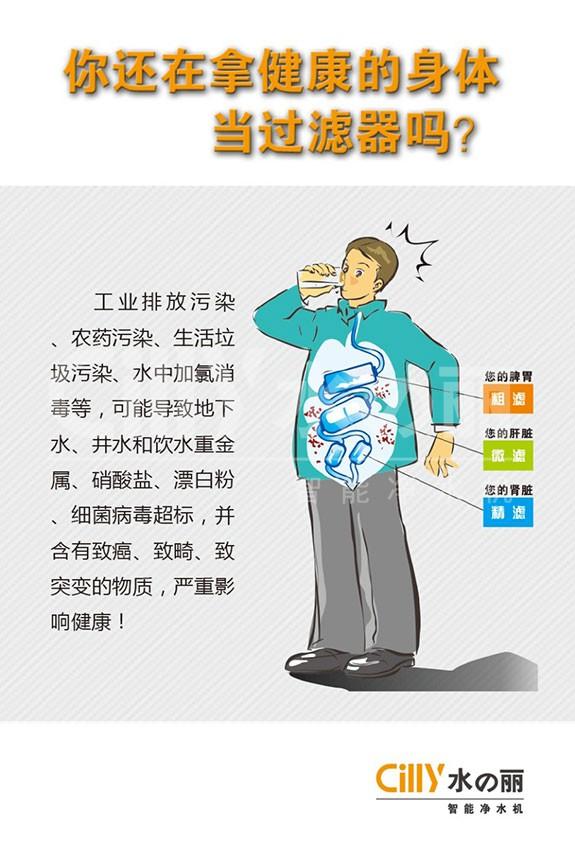 净水器就是你的体外肾